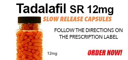 Compounded by a licensed pharmacy, Tadalafil 12mg Slow Release Capsules help treat Erectile Dysfunction.