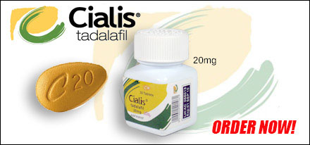 Cialis, Tadalafil pills for treatment of Erectile Dysfunction.