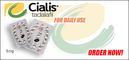5mg Cialis (Tadalafil) is used in the treatment for Erectile Dysfunction.